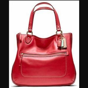 AUTHENTIC COACH 22424 Poppy Hallie Large Tote